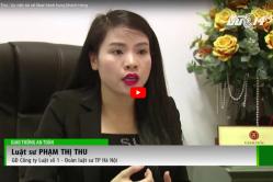 """LS Phạm Thị Thu trao đổi với Đài truyền hình Hà Nội về biện pháp phòng ngừa rủi ro pháp lý khi mua nhà """"chung cư mini"""""""